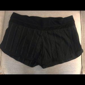 Lululemon short running shorts size 12